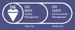 ISO certification for ISO 9001 and 14001